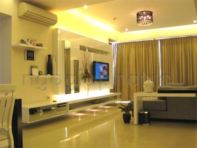 Nội thất căn hộ cao cấp Saigon Pearl