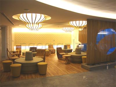 Thi công nội thất khu dịch vụ công trình phòng tập GYM Cressent Mall 4