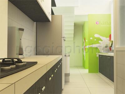 Thiết kế - Thi công nội ngoại thất hoàn thiện quán kem Yogurteen 2