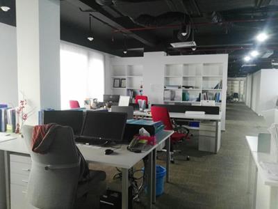 Thi công nội thất văn phòng công ty Surbana - Sài Gòn Pearl