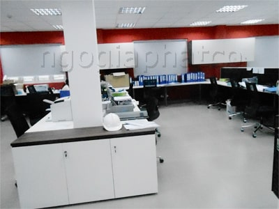 hình ảnh thi công trọn gói văn phòng làm việc