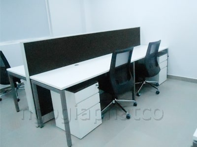 hình ảnh thi công nội thất văn phòng làm việc trọn gói