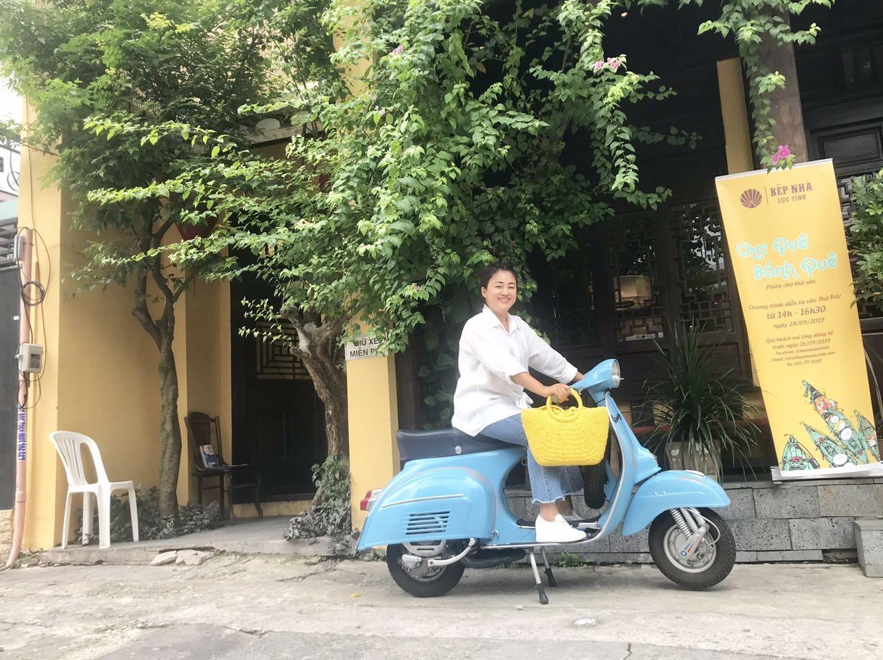 Chị Lê Hương Giang