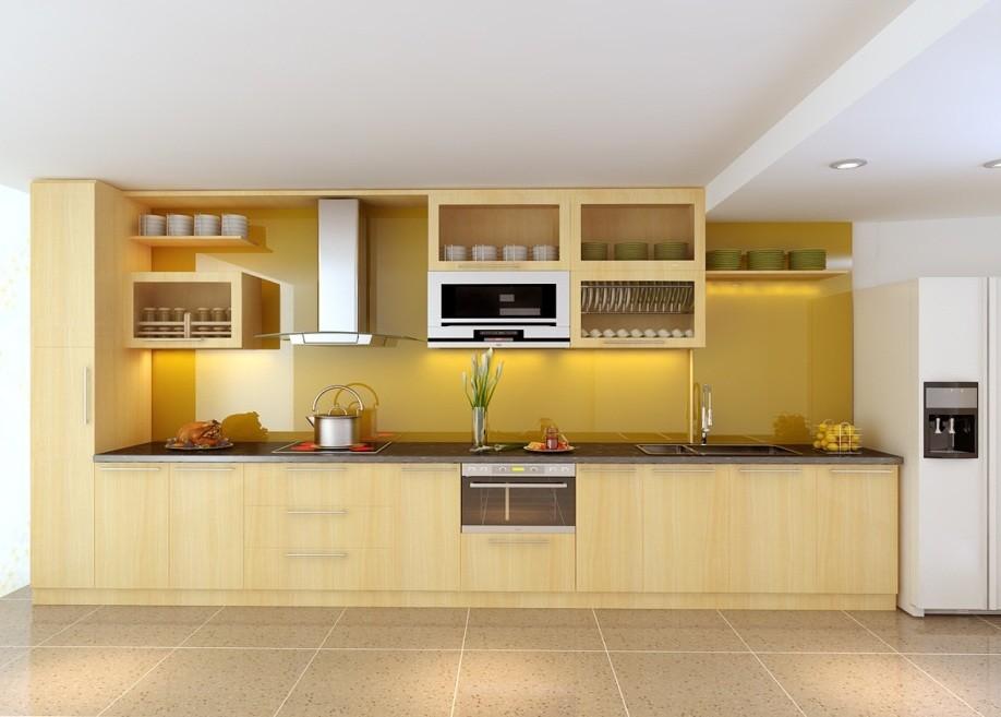 Tủ Bếp Gỗ Vener 1
