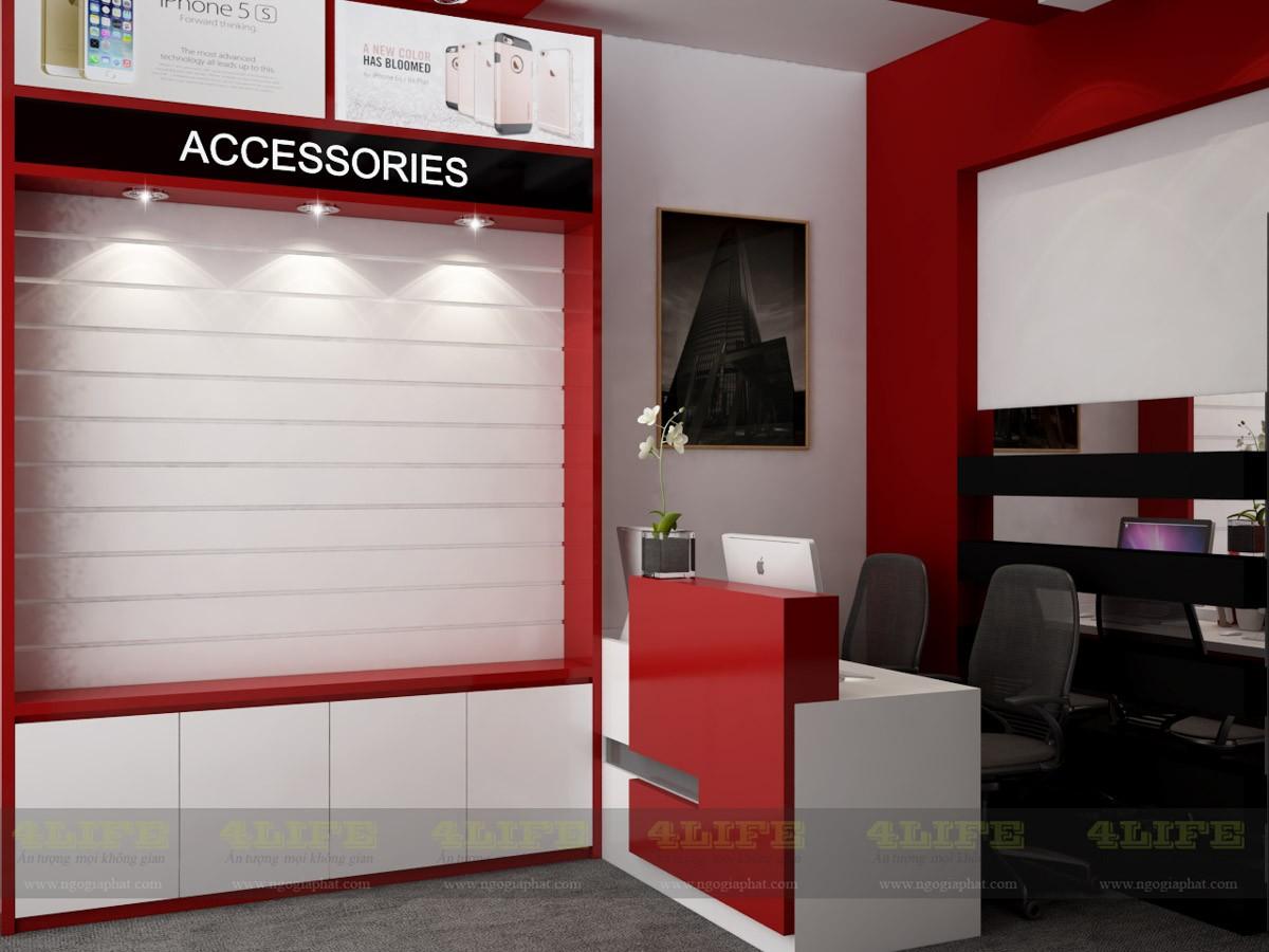 Dự án nội thất shop điện thoại Viettable