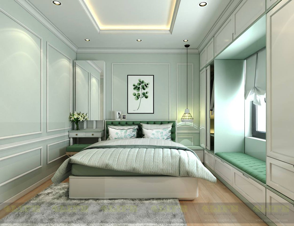 Dự án thiết kế thi công nội thất căn hộ chung cư cao cấp