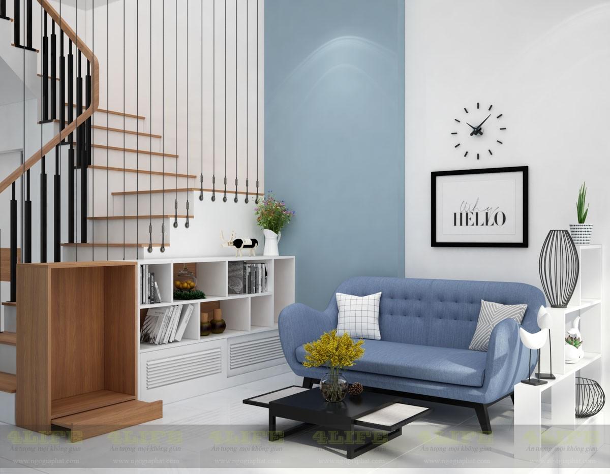 Dự án thiết kế thi công nội thất nhà phố nguyễn chí thanh