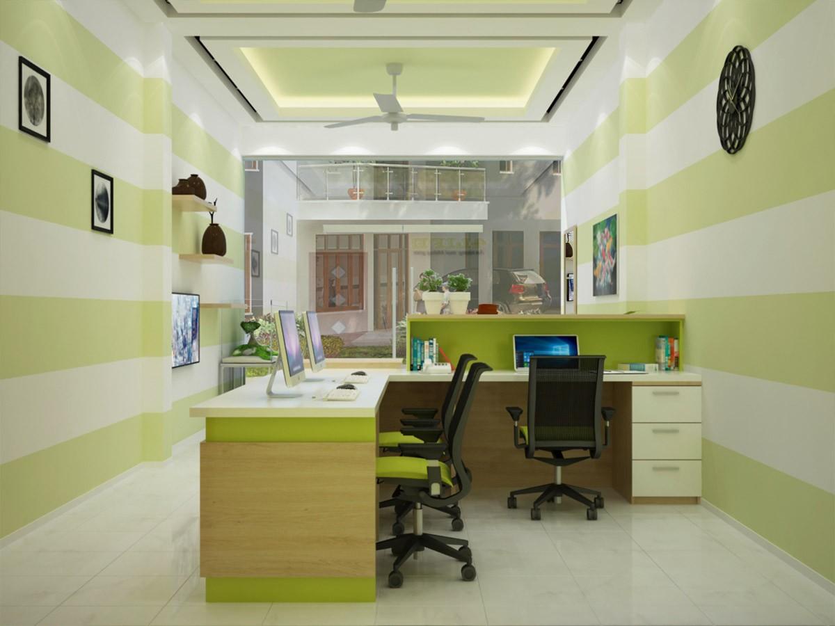 Thi công nội thất văn phòng đẹp