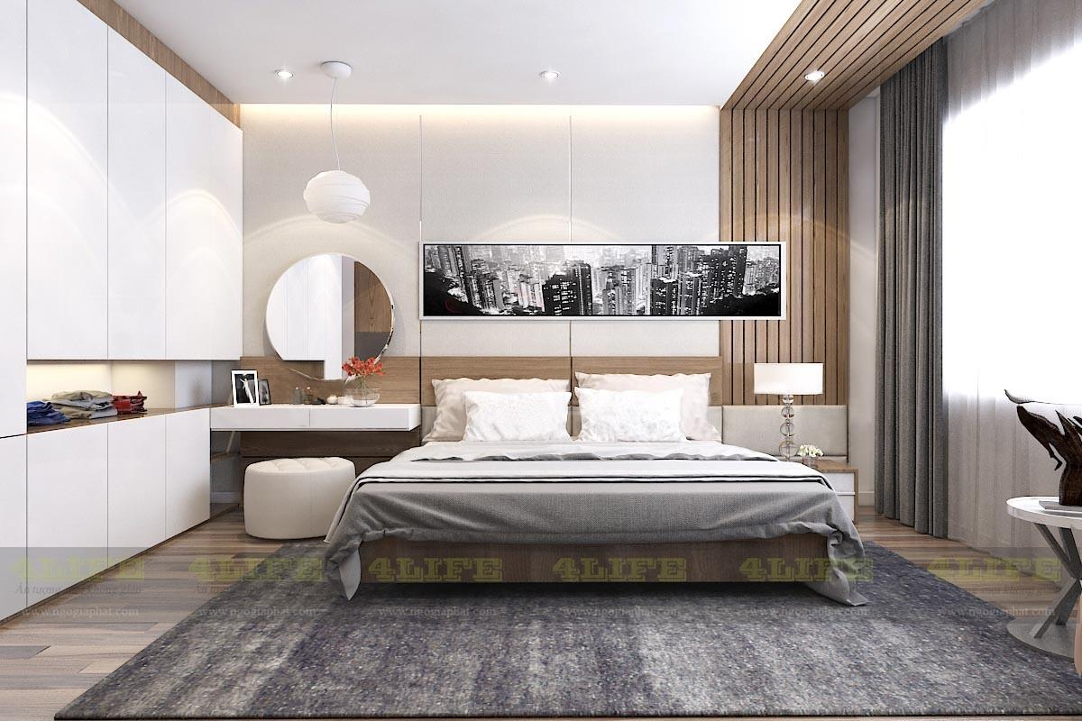 Thiết kế nội thất biệt thự phố city land gò vấp
