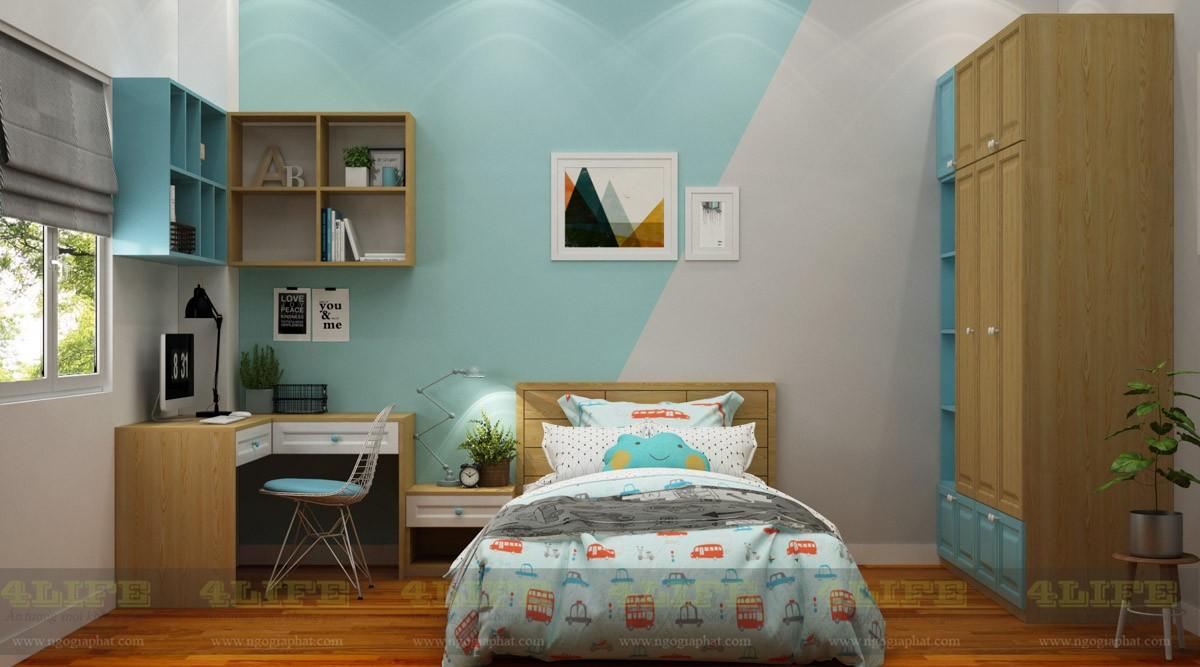 Thiết kế nội thất biệt thự phố phan văn trí gò vấp