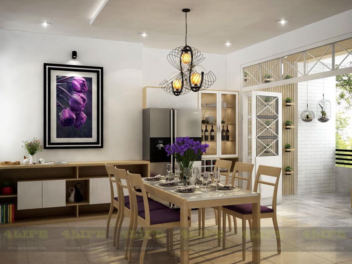 Thiết kế nội thất biệt thự phố phan văn trí
