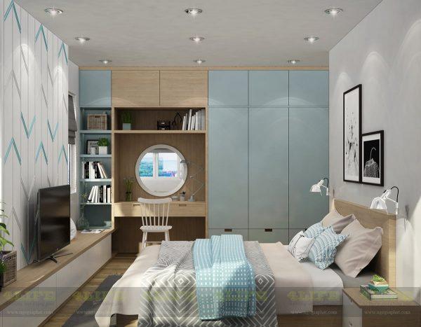 thiết kế nội thất căn hộ sunrise cao cấp