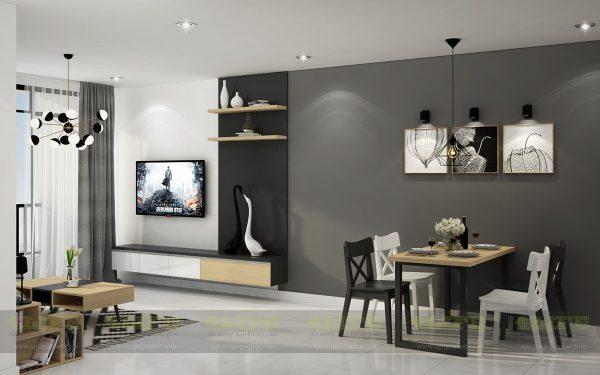thiết kế nội thất căn hộ sunrise tphcm