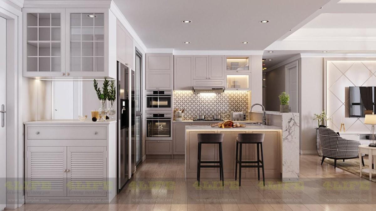 Tư vấn thiết kế nộ thất căn hộ chung cư cao cấp