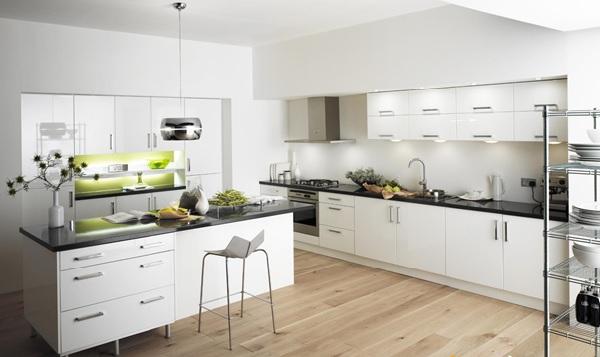 Mẫu tủ bếp Acrylic TpHCM đẹp, bền bỉ, sử dụng lâu dài