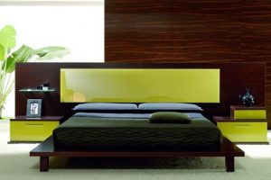 Giường Ngủ Gỗ BED006
