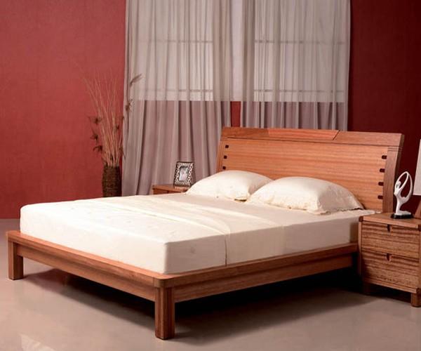 Giuong Ngu Go Bed009