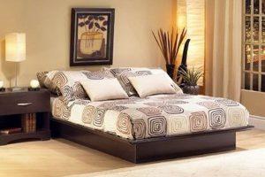 Giường Ngủ Gỗ BED015