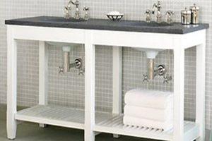 Tủ Lavabo Phòng Tắm Gỗ LV001