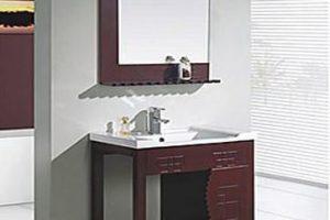 Tủ Lavabo Phòng Tắm Gỗ LV011