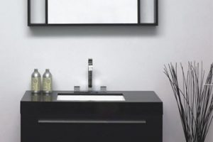 Tủ Lavabo Phòng Tắm Gỗ LV013