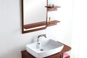 Tủ Lavabo Phòng Tắm Gỗ LV014