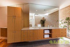 Tủ Lavabo Phòng Tắm Gỗ LV015