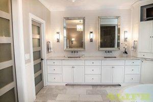 Tủ Lavabo Phòng Tắm Gỗ LV016