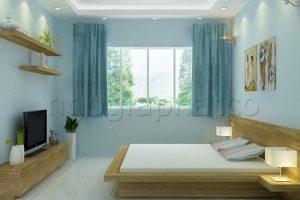 Thiết Kế Nội Thất Căn Hộ 1 Phòng Ngủ – Chung Cư Phúc Yên