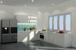 Tủ Bếp- Kệ Bếp Gỗ MDF TB010