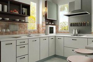 Tủ Bếp – Kệ Bếp Gỗ MDF Sơn TB006