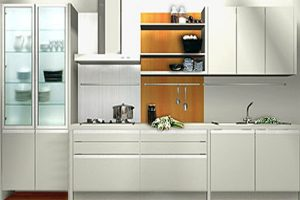 Tủ Bếp – Kệ Bếp Gỗ MDF Sơn TB008