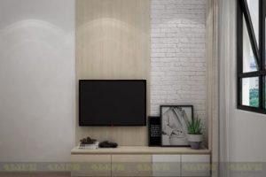 Tủ Kệ Tivi Gỗ Phòng Khách LF004