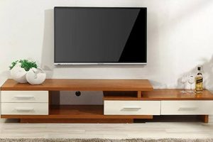 Tủ Kệ Tivi Gỗ Phòng Khách LF017