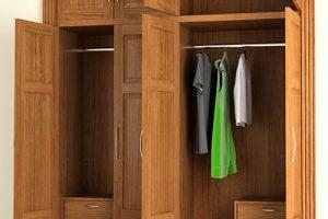 Tủ Quần áo Gỗ WD007