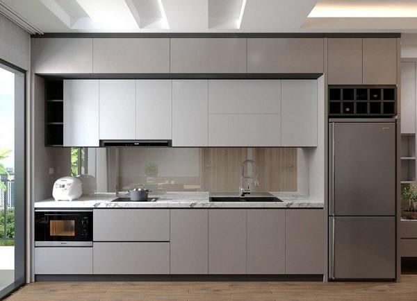 Tư vấn chọn tủ bếp cho không gian nhỏ hẹp