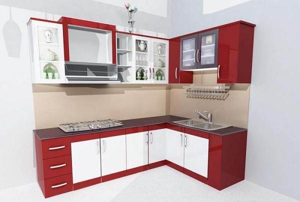 Nên chọn tủ bếp loại nào cho không gian hẹp?