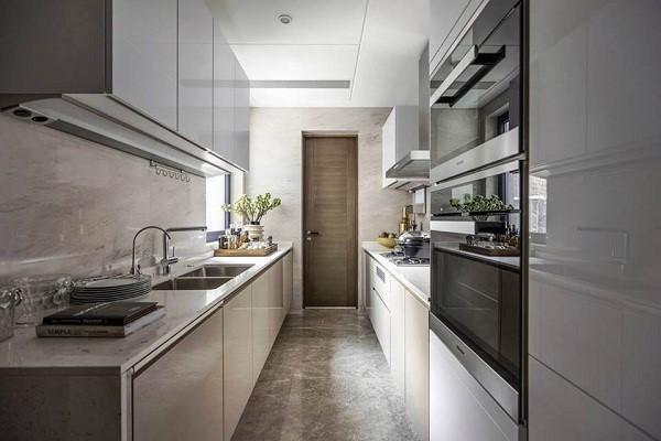 Các mẫu tủ bếp cho không gian hẹp