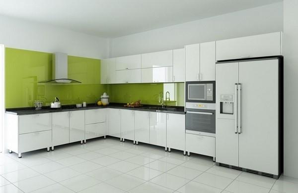 Nên chọn tủ bếp acrylic hay gỗ tự nhiên cho căn bếp