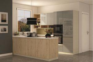 Tủ Bếp Gỗ Acrylic TB020