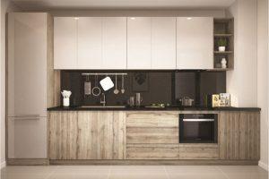 Tủ Bếp Gỗ Acrylic TB025