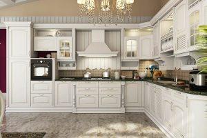 Tủ – Kệ Bếp Gỗ Căm Xe TB010