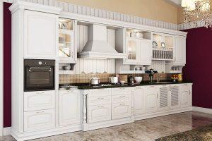 Tủ Bếp Gỗ Căm Xe TB011