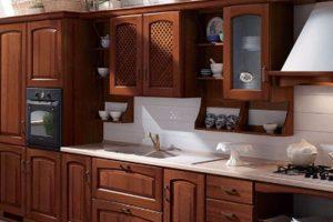 Tủ – Kệ Bếp Gỗ Căm Xe TB012