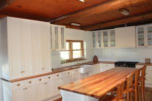 Tủ Bếp Gỗ Tự Nhiên Sồi TB011