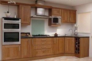 Tủ Kệ Bếp Gỗ Sồi TB012