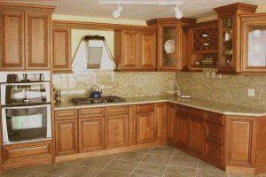 Tủ Bếp Sồi TB013