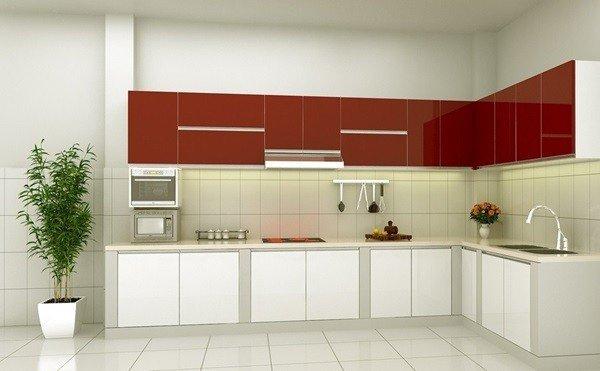 Tủ bếp acrylic đẹp, hiện đại có giá thành cạnh tranh