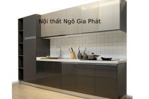Tủ Bếp Gỗ Acrylic TB032