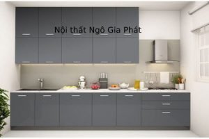Tủ Bếp Gỗ Acrylic TB033